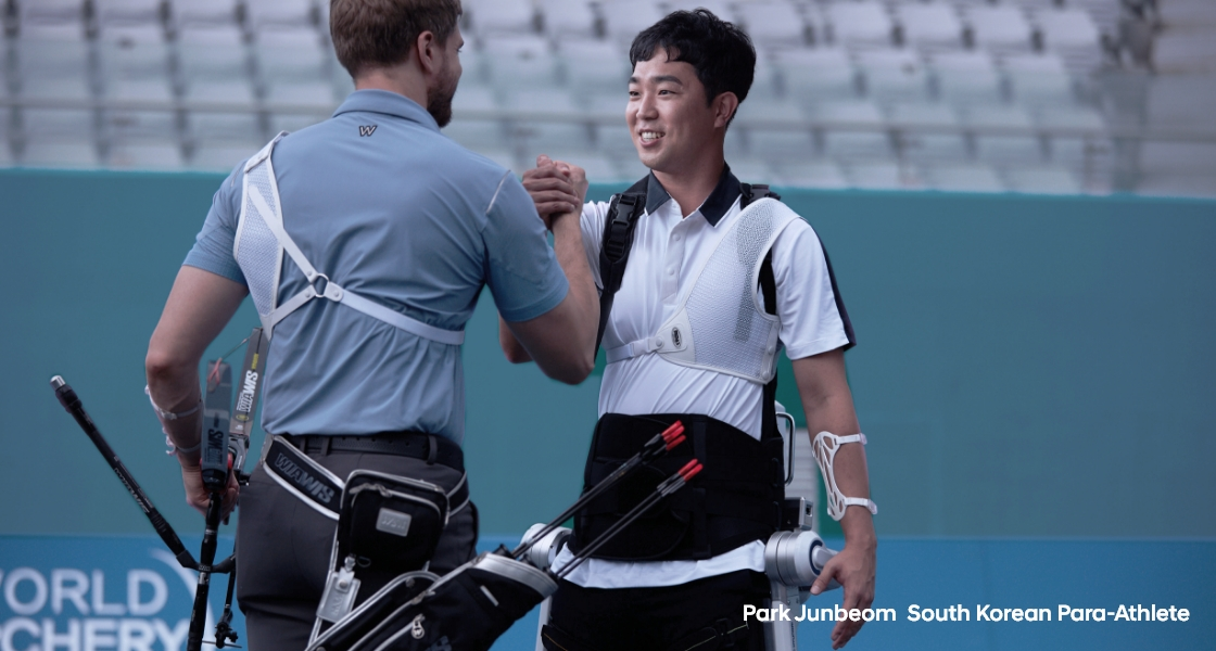Park Junbeom South Korean Para-Athlete