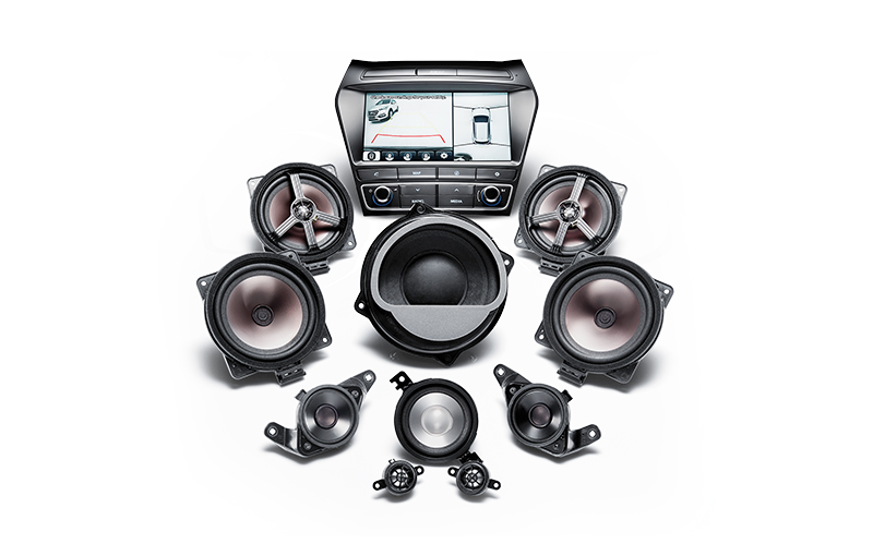 European AVN 2.0 and Premium sound system