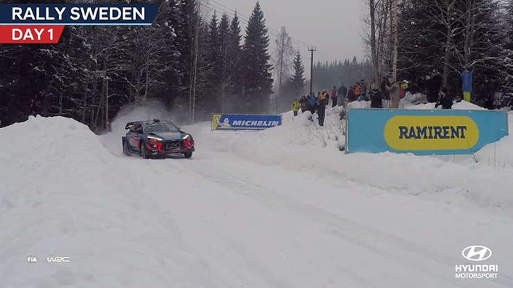 Rally Sweden Day One