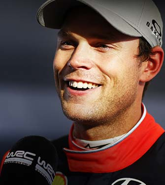 andreas mikkelsen in an interview in the world rally championship