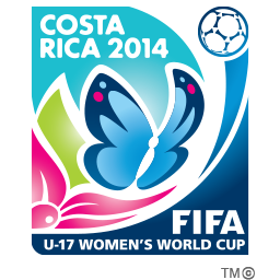 FIFA u-17 women's world cup 2014 logo
